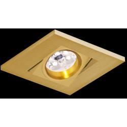 BPM KARE 2000 LED 10W, 7W złota