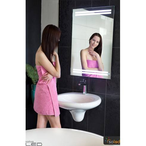 LED backlit mirror 50x60cm