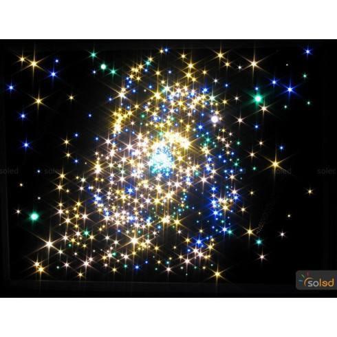 Gwiezdne niebo wielokolorowe SKY8-400
