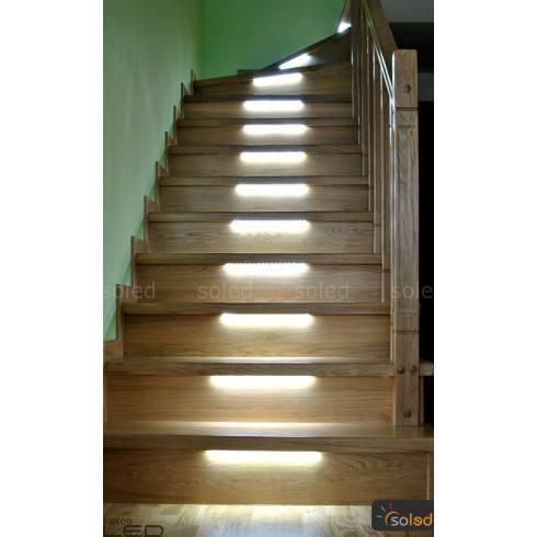 Oświetlenie schodowe LED ZOS3 45cm/5stopni