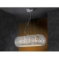 Lampa wisząca SCHULLER DIAMOND OVAL 508821