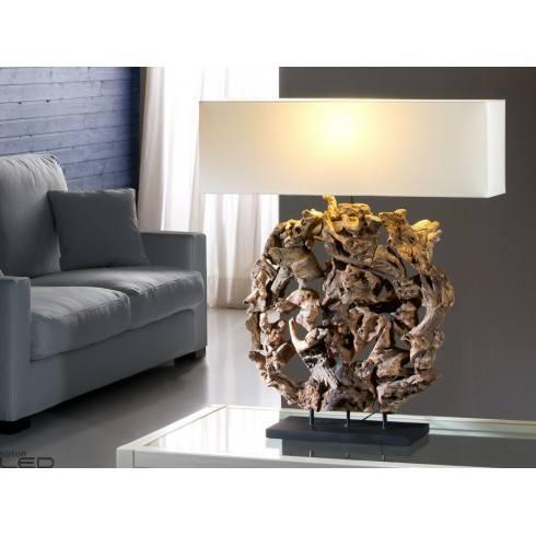 Lampa stołowa SCHULLER NATURE 621649/7580