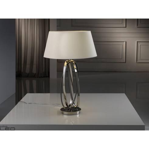 Lampa stołowa SCHULLER OVALOS 316451 polerowany nikiel