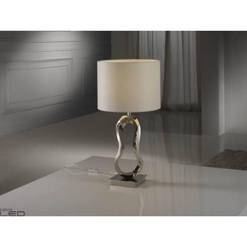 Lampa stołowa SCHULLER HADES 316548/7447 polerowany nikiel