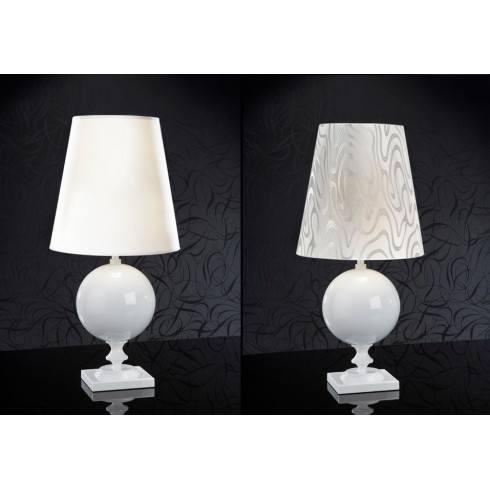 Lampa stołowa SCHULLER TERRA 664410 biała