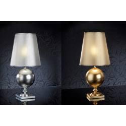 Lampa stołowa SCHULLER TERRA srebrna, złota