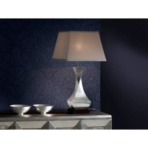 Lampa stołowa LED SCHULLER DECO srebrna