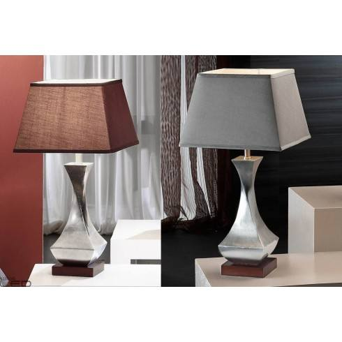 Lampa stołowa LED SCHULLER DECO 661530 srebrna