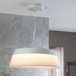 Lampa wisząca LED SCHULLER SWING 55cm czarna, biała brązowa