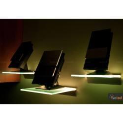 Półka LED RGB podświetlana 400x150x6mm