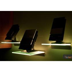 RGB LED Highlighted shelf 400x150x6mm