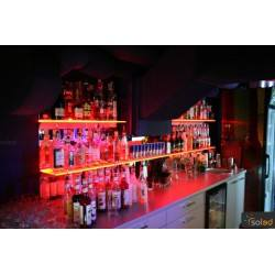 Półka LED RGB podświetlana 700x200x8mm