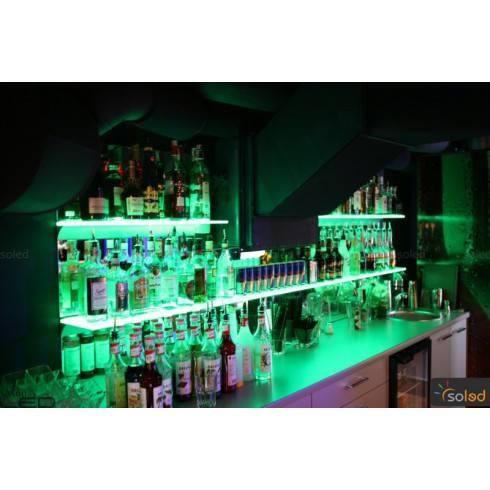 Shelf LED RGB backlit 1000x200x8mm