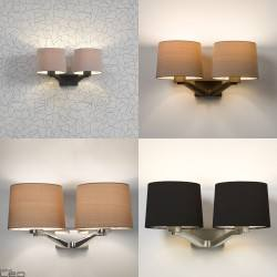 Wall light ASTRO Montclair TWIN 7477, 7478, 7479