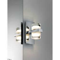 Paulmann Diadem kinkiet IP44 LED 2x3.5W chr/biały