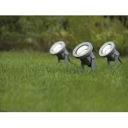 Outdoor plant light spike, special line 3W LED, Aluminium, 3 pc. set