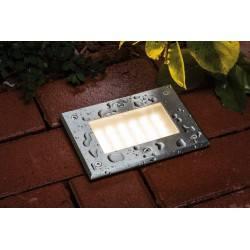 Paulmann Boden Floor recessed light set, special line, 230 V LED Warm white, stainless steel, 1 pc. set
