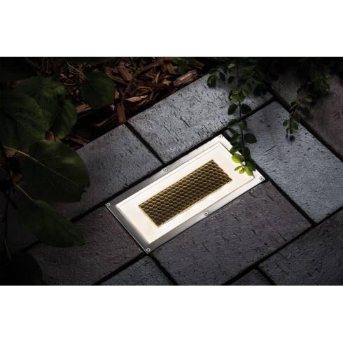 Paulmann Floor recessed light set Solar Box LED Stainless steel, 1 pc. set