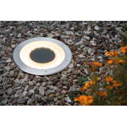 Paulmann floor recessed light set Solar Jupiter LED Stainless steel