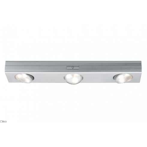 Paulmann Jiggle opr szafkowa ściemnialna 30cm LED Chrom mat 6x1,5V AAA plastik
