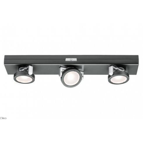 Paulmann Rotate LED antracyt chrom mat 6x1,5V AAA plastic