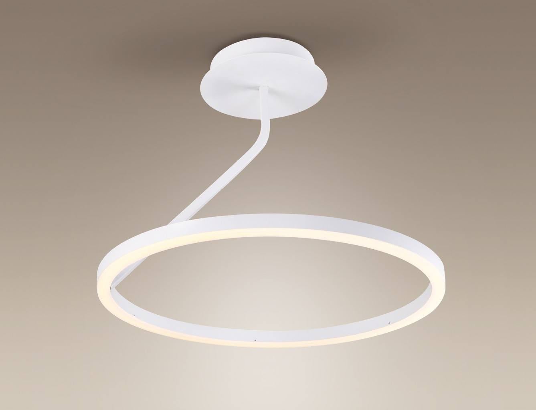 Okragla Lampa Sufitowa Plafon Maxlight Angel P0152 P0153 Led 24w 36w