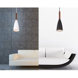 Hanging lamp SOFT PO145WH/PO146BK black or white