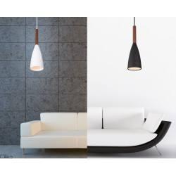Maxlight Lampa wisząca SOFT P0145WH / P0146BK biały/czarny