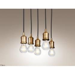 Maxlight Lampa wisząca BALOON V P0178 5 x E27 złoty