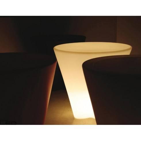 External floor lamp flower table led for Led flower floor lamp