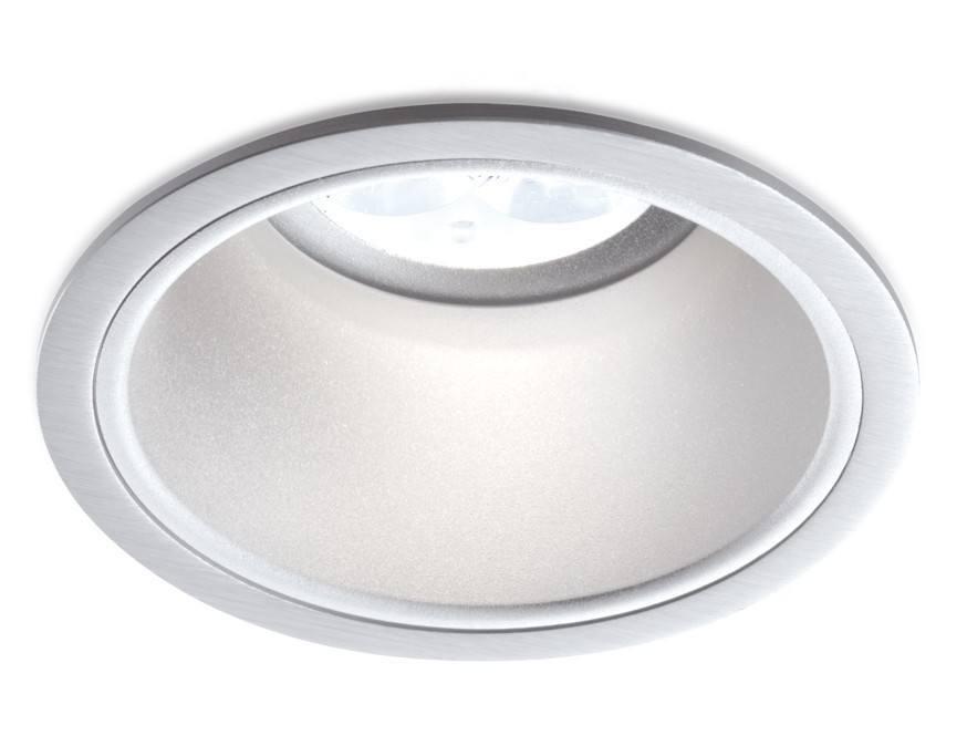 BPM SIKMA 3029 LED 10W, 7W oczko sufitowe cofnięte alu szczotk
