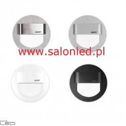 SKOFF RUEDA LED oprawa schodowa alu, stal, biała, czarna