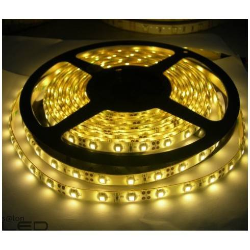 Strip LED 300 SMD5050 Warm white non-waterproof 5m width 10mm