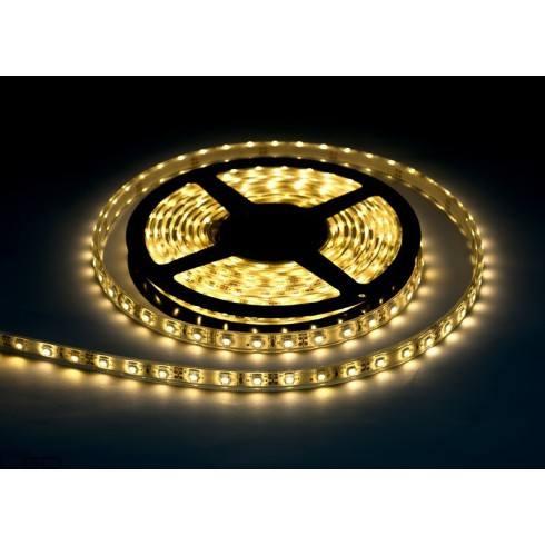 Taśma LED 3528 60LED/m IP68 (Biała Ciepła) Rolka 5m