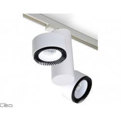 BPM LUK BELUGA 6611 LED 2x30W white, black, black-white