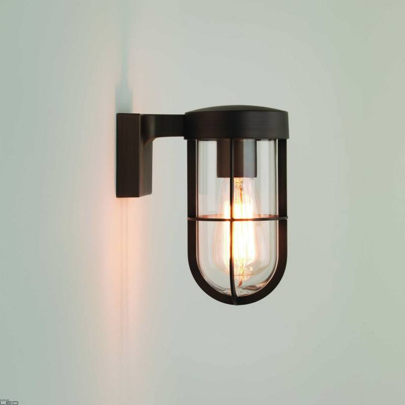 Outdoor Wall Lamp Astro Cabin Wall 1xe27 3 Colors