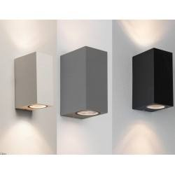 ASTRO Chios 150 exterior wall IP44 silver, black, white