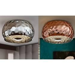 SCHULLER Fluvio 267201, 267215 plafon LED chrom, miedź