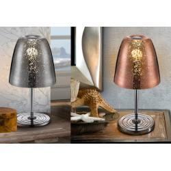 SCHULLER QUASAR 436462, 436473 table lamp chrome, copper