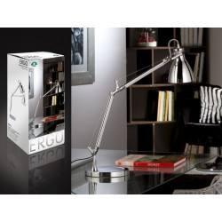 SCHULLER ERGO 395472 lampa biurkowa LED chrom