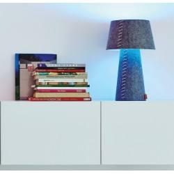 MOREE ALICE LED RGB lampa stołowa z filcu z pilotem