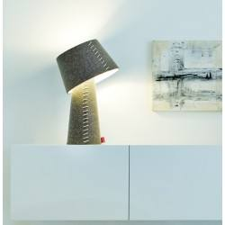 MOREE ALICE LED RGB table lamp felt with remote