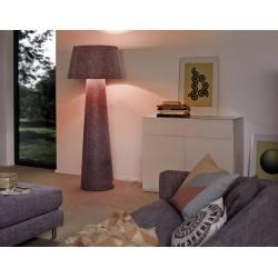 MOREE ALICE XL LED RGB lampa podłogowa z filcu z pilotem