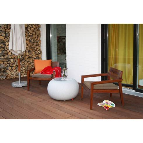 MOREE BUBBLE GRANITE Outdoor LED IP44 table/seating