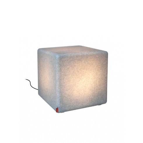 MOREE CUBE GRANITE Outdoor LED IP44 stolik/pufa