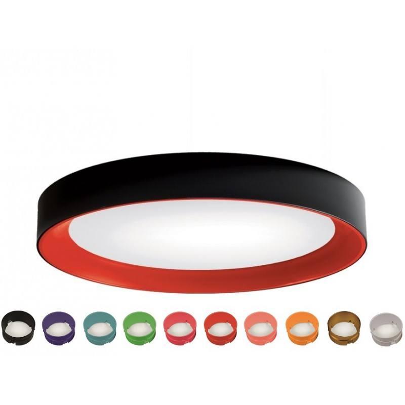 white black led surface lamp bpm florida 10190 3000k 4000k. Black Bedroom Furniture Sets. Home Design Ideas