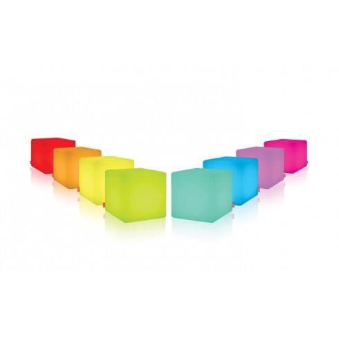 MOREE Stolik/pufa Cube LED Accu Outdoor 09-01-02
