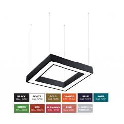 BPM ALBERTA S-light SQUARE 10196 pendant LED lamp