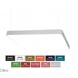 BPM ALTAIR S-light 10199 kwadratowa lampa wisząca LED