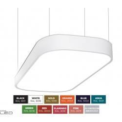 BPM ALTAIR S-light 10199 prostokątna lampa wisząca LED